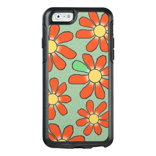 Floral Red Graphical on any Color