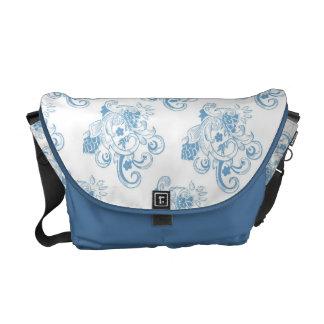 Floral Regency Style Messenger Bag