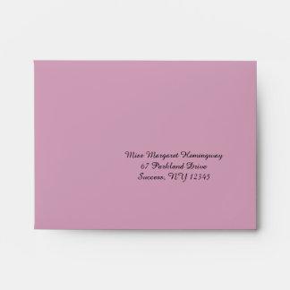 Floral Remembrance Coordinating Envelope