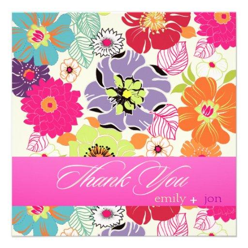 Floral retro del alegre de PixDezines Anuncio Personalizado