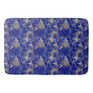 Floral retro en azul