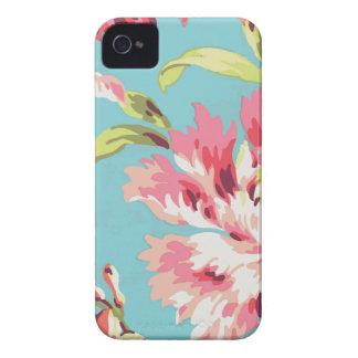 Floral retro fresco funda para iPhone 4