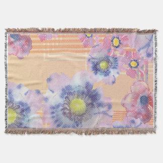Floral retro manta