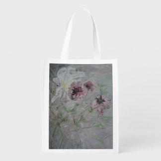 Floral Reusable Grocery Bag