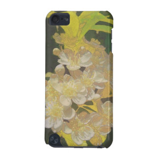 Floral Rhapsody In Gold and White iPod Touch (5th Generation) Case
