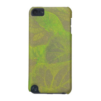 Floral Rhapsody In Green and Brown iPod Touch 5G Cases
