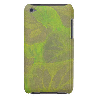 Floral Rhapsody In Green and Brown Barely There iPod Case