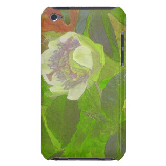 Floral Rhapsody in Green Barely There iPod Case