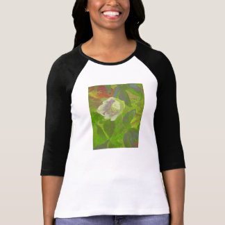 Floral Rhapsody in Green Tee Shirt