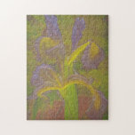 Floral Rhapsody in Lavender Jigsaw Puzzle