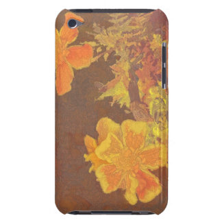 Floral Rhapsody In Orange and Yellow iPod Touch Covers