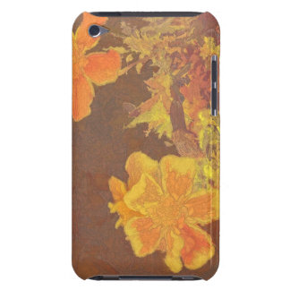 Floral Rhapsody In Orange and Yellow iPod Touch Case-Mate Case