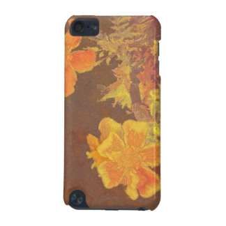 Floral Rhapsody In Orange and Yellow iPod Touch (5th Generation) Cases