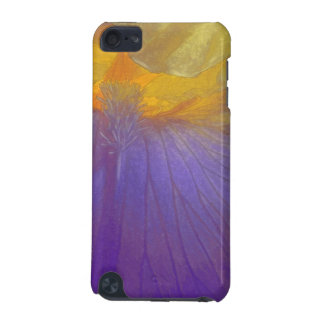 Floral Rhapsody In Purple And Yellow iPod Touch (5th Generation) Covers