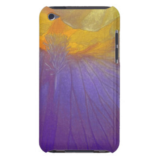 Floral Rhapsody In Purple And Yellow iPod Touch Cases