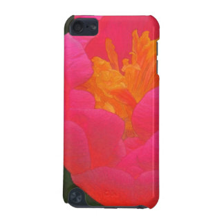 Floral Rhapsody In Red and Yellow iPod Touch (5th Generation) Case