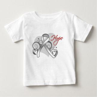 Floral Ribbon Hope - Bone Cancer T-shirts