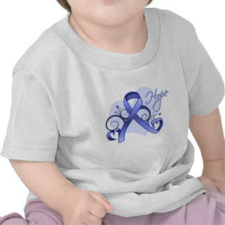 Floral Ribbon Hope - Esophageal Cancer Tshirt