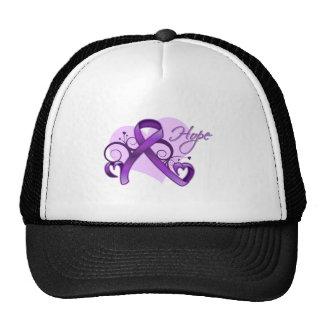 Floral Ribbon Hope - Lupus Trucker Hat