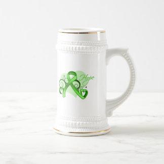 Floral Ribbon Hope - Lyme Disease Mug