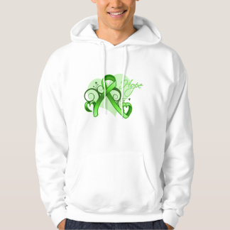 Floral Ribbon Hope - Lyme Disease Sweatshirt