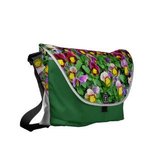 Floral Rickshaw Zero Messenger Bag