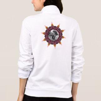 Floral Ring Kaleidoscope Mandala Photo Frame Jacket