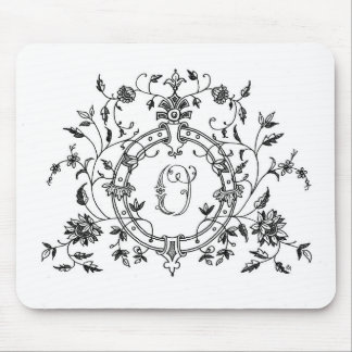 Floral Ring O Mousepad