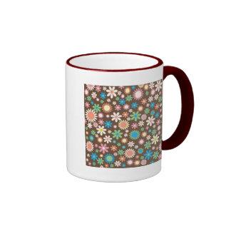 Floral Ringer Mug