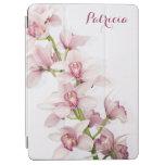 Floral rosado de la flor de la orquídea del cubierta de iPad air