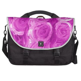 Floral Rose design image design Commuter Bags