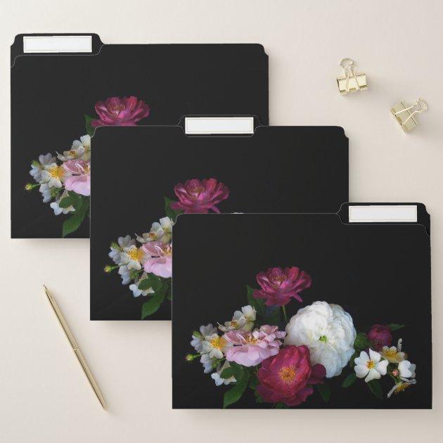 Plot file set Roses Bouquet
