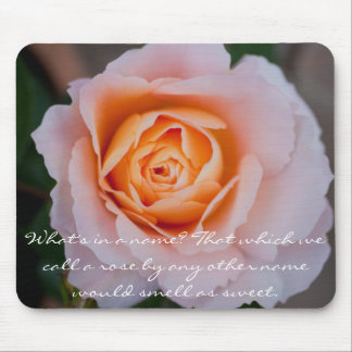 Floral Rose Mouse Pad
