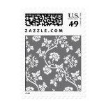 Floral Rose Vine Stamp