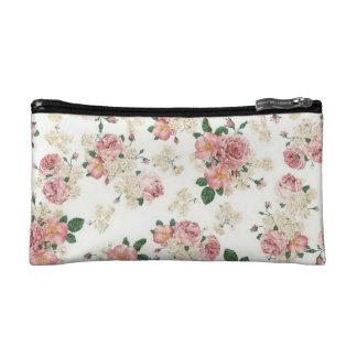 Floral Roses Makeup Bag