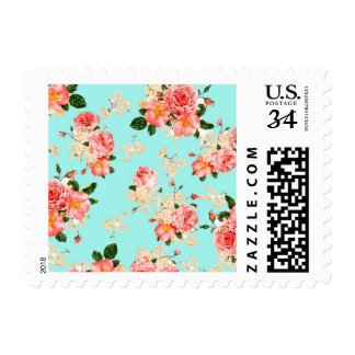 Floral Roses Stamps