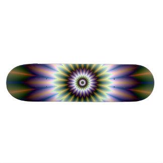 Floral Rosette Skateboard