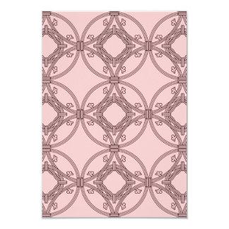 Floral roundel card