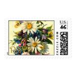 Floral RSVP Stamp
