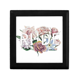 Floral Rude Jewelry Box