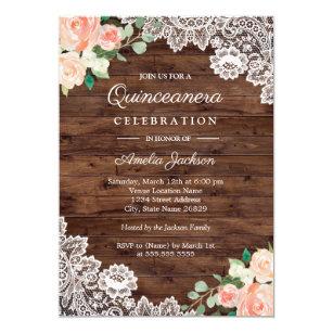quinceañera invitations zazzle