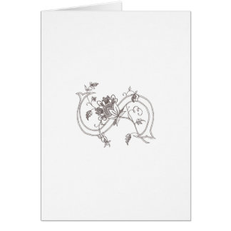 Floral S Notecard Greeting Card