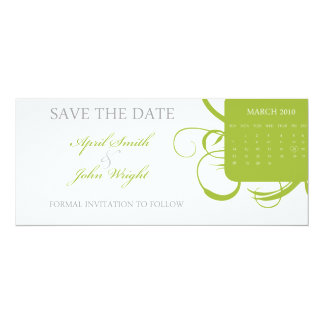 Floral Save the Date (Today's Best Winner) Card