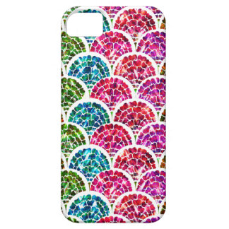 Floral Scales - Stained Glass effect iPhone SE/5/5s Case