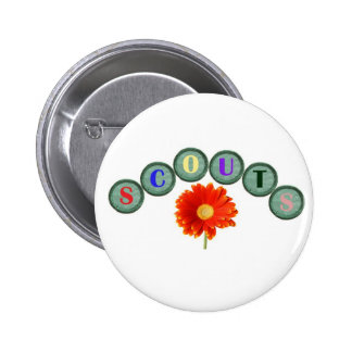Floral Scouting Button