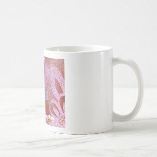 Floral Scroll Coffee Mug