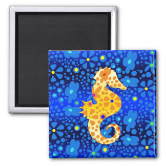 Floral Sea Horse Magnet