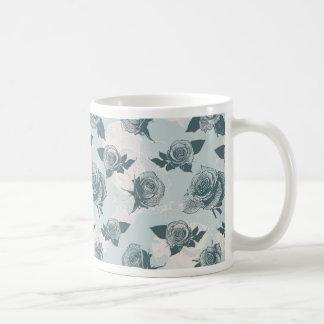 Floral Seamless Coffee Mug