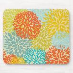 Floral seamless pattern mousepads