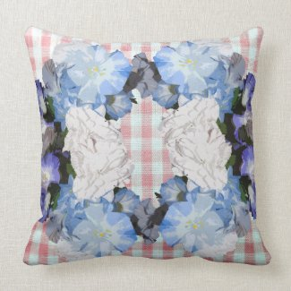 Floral Shabby Chic Country Living Farmhouse Pillow